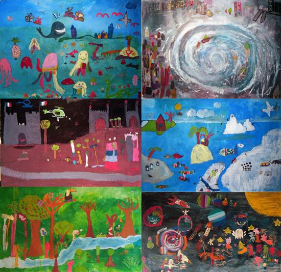 Ateliers pour enfants - Fresques communes