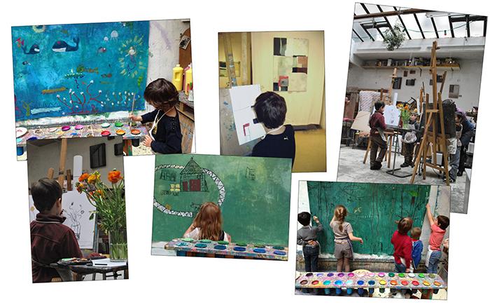 Les ateliers d'arts palstiques-web
