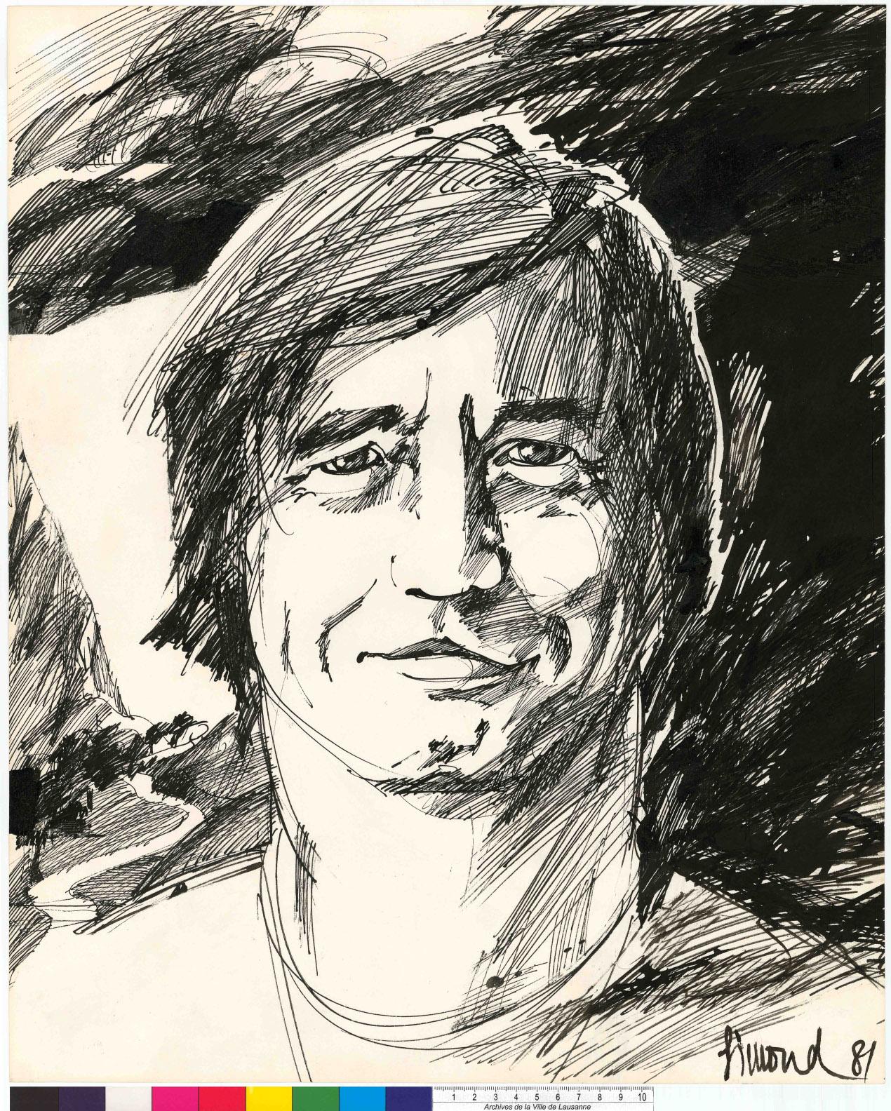 anne-marie-simond_portrait_1981_philippe-d-_recto_plume_arch-ville_-lausanne_798-ko
