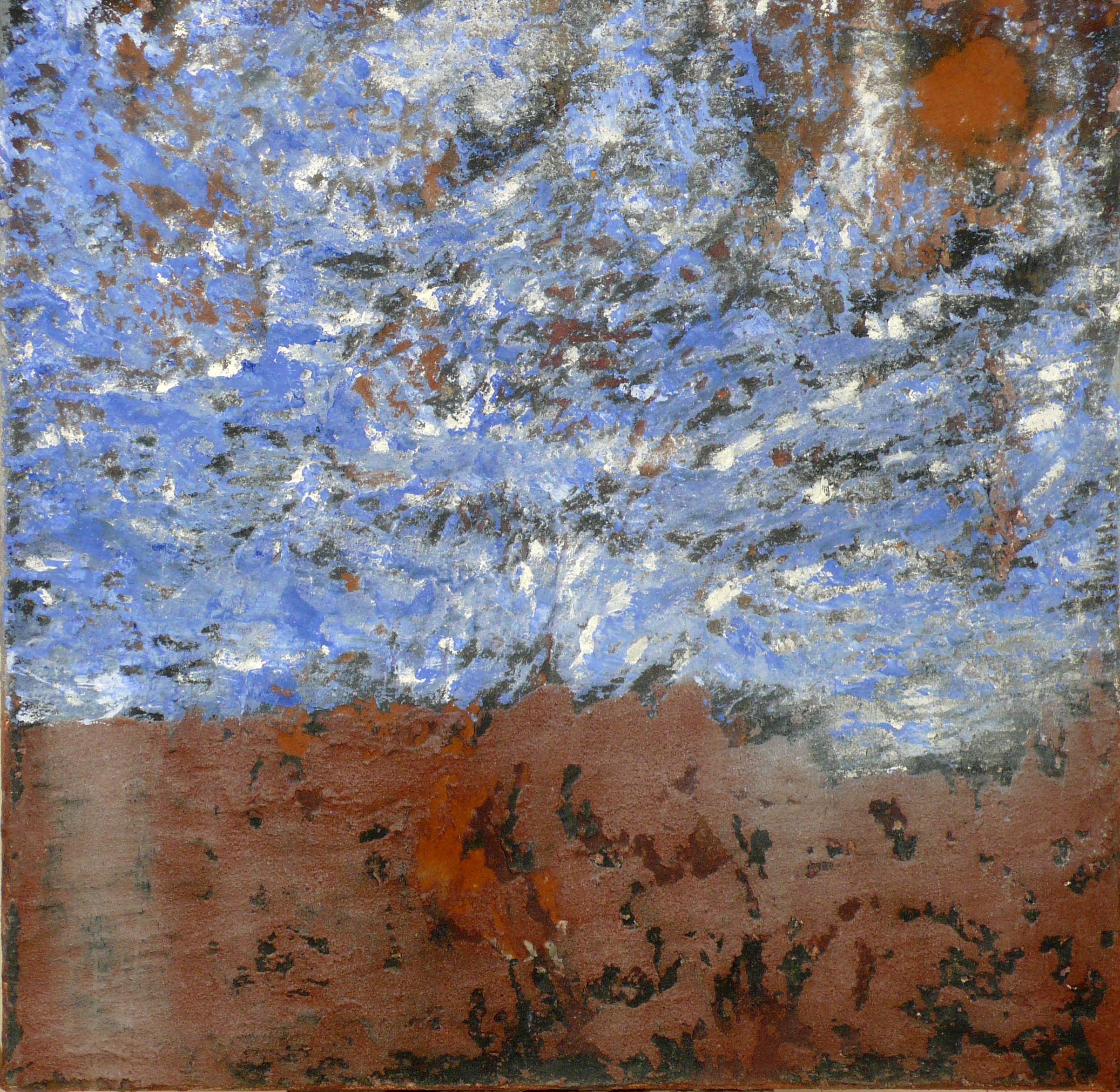 terre-dazur-technique-mixte-sur-toile-201260x60